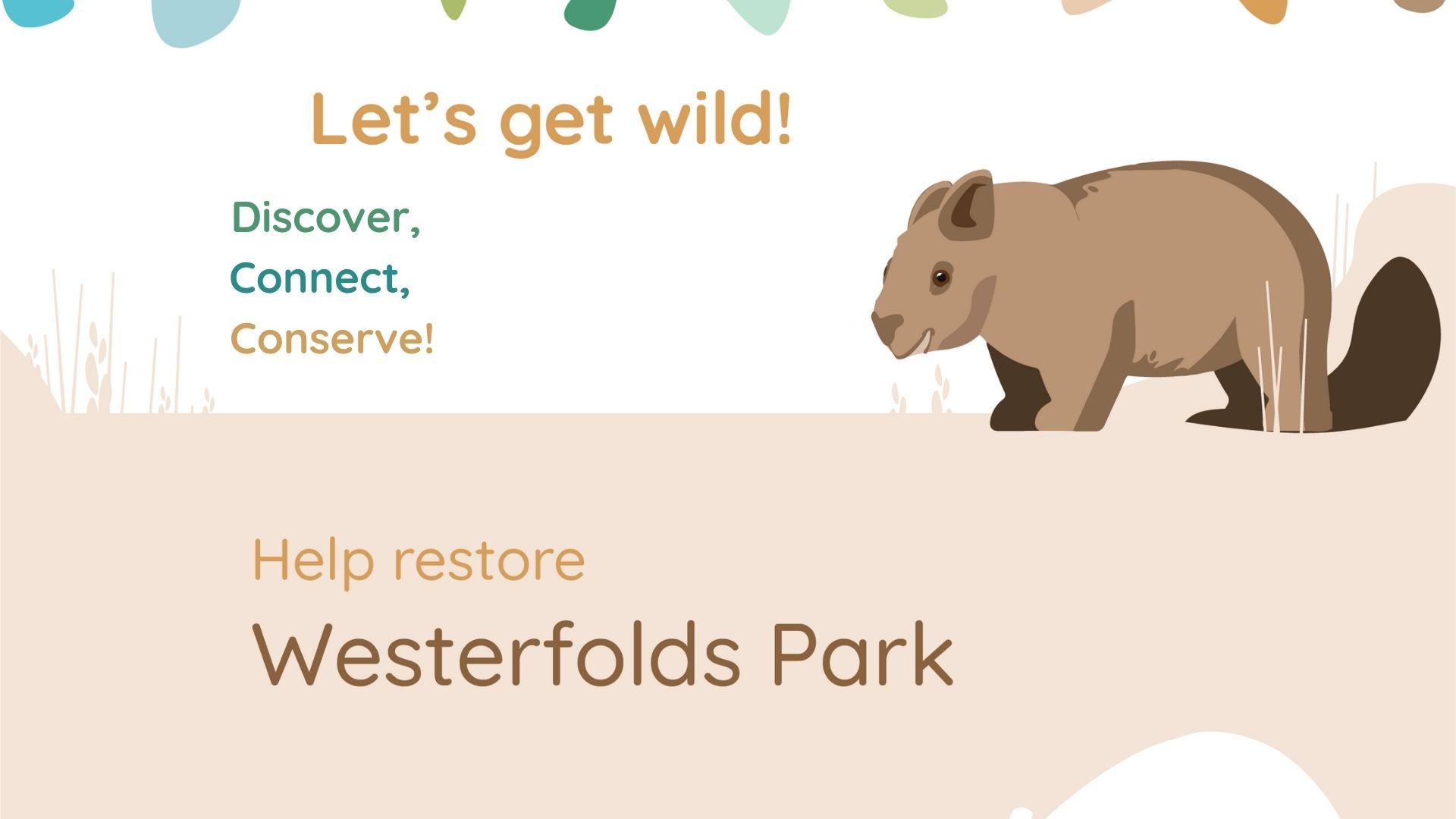 Westerfolds event banner
